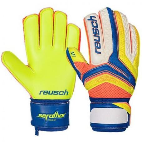 Football goalkeeper gloves Reusch Serathor Prime M1 Ortho-Tec