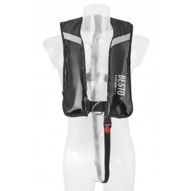 150N Automātiska Wipe Clean Besto Raider Profesional Style Piepūšamā glābšanas veste