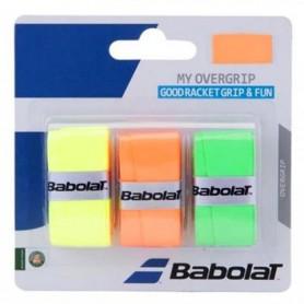 Tennis Racket grip tape Babolat My Overgrip 3 pcs