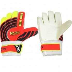 Детские футбольные вратарские перчатки NO10 Pro