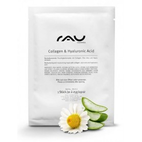 """RAU Collagen & Hyaluronic Acid Fleece Mask"" маска для лица"