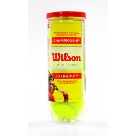 WILSON CHAMPIONSHIP WRT100101 3 pcs tennis ball