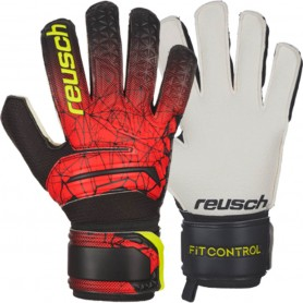 Children football goalkeeper gloves Reusch Fit Control SD Open Cuff