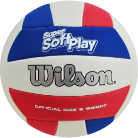 Wilson Super Soft Play VB Whrdblue волейбольный мяч