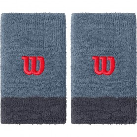 Wilson Extra Wide wristband 2 pcs