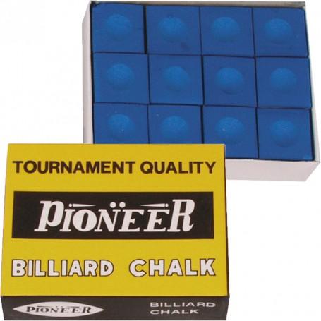 Pioneer Billiard chalk 12 pcs