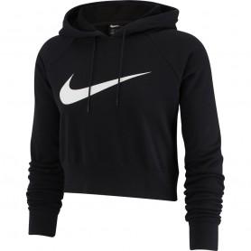 Nike W Swoosh Hoodie Crop FT sieviešu sporta jaka
