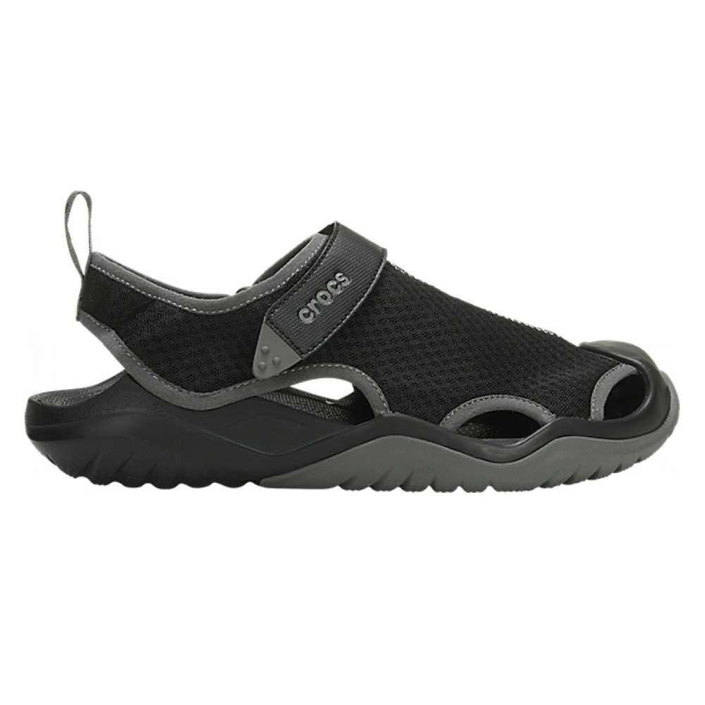 Indipendentemente Avventurarsi vuoto  Men's Shoes Crocs Swiftwater Mesh Deck Sandal
