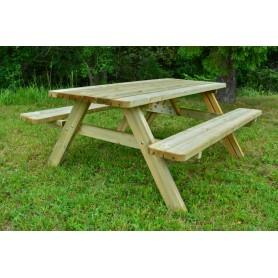 Комбинированный Садовый стол