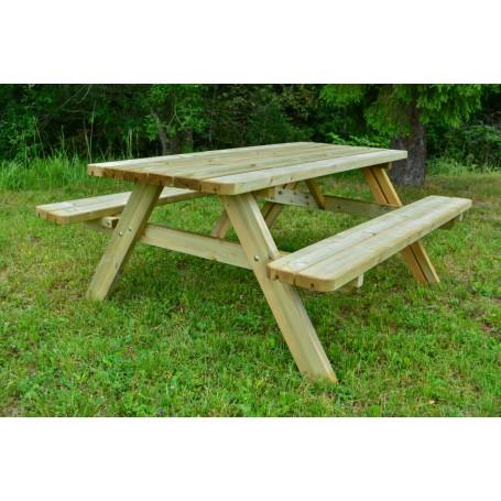 Kombinētais dārza galds Lux Klasika1
