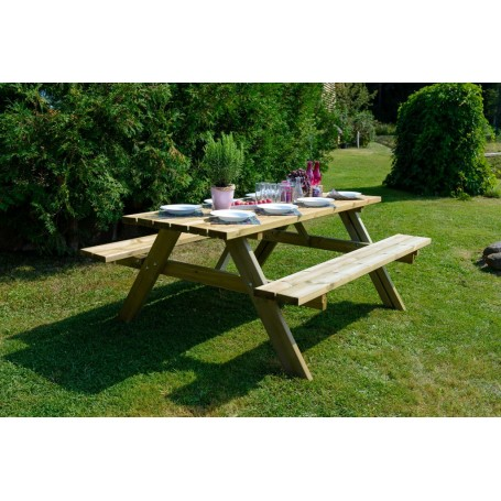 Kombinētais dārza galds, 42mm