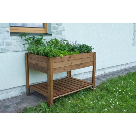 Six section vegetable bed