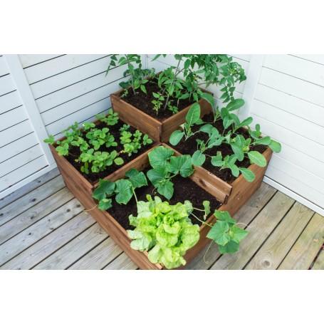 Dārza augu kaste 4 līmeņu