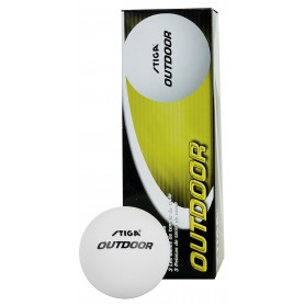 Table tennis balls STIGA OUTDOOR 3 pcs