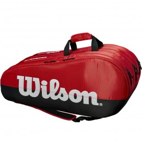 Tennis racket bag Wilson Team 3 Comp BKRD
