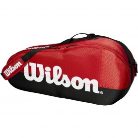 Tennis racket bag Wilson Team 1 Comp Small BKRD