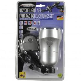 Velosipēdu priekšējā un aizmugurējā gaisma Bicycle Gear light set