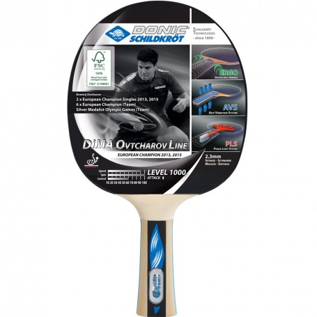 Table tennis racket Donic Ovtcharov 1000