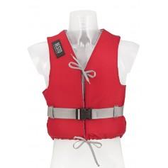 Bērnu glābšanas veste - peldveste Besto Dinghy 50N RED
