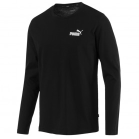 Vīriešu sporta krekls Puma Essentials No.1 Logo LS Tee