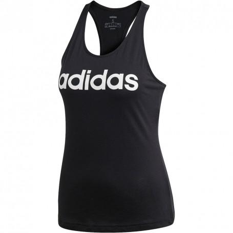 Adidas W Essentials Linear Slim Tank Sieviešu T-krekls