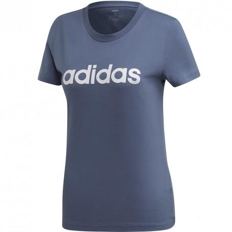 Adidas W Essentials Linear Slim T Women's T shirt