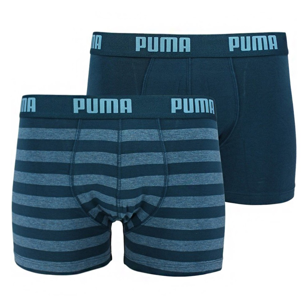 Amarillento Desviación marrón  Men's underwear Puma Stripe 1515 Boxer 2P