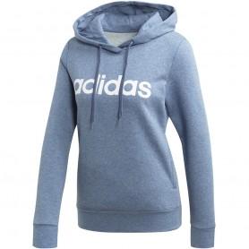 Adidas W Essentials Linear Over Head Fleece Hoodie women sports jacket