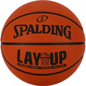 Layup Spalding basketball ball
