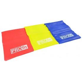 Лента для упражнений PROFIT 200x15cm 3 pcs