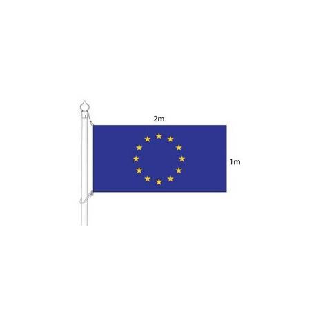 Eiropas Savienības karogs (karoga mastam) 2x1m