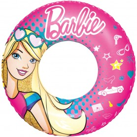 Inflatable children's ring Bestway Barbie 56cm