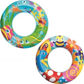 Inflatable children's ring Bestway Designer 56cm