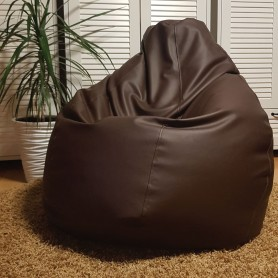 Bean bag XL - Dark brown