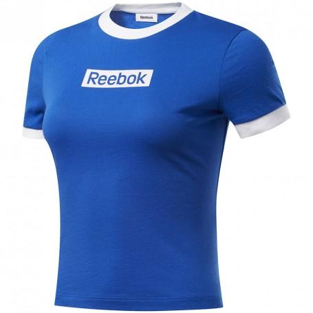 Women's T-shirt Reebok Training Essentials Linear Logo Tee