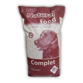 Sausā barība suņiem Natural Food Complete Dog Adult 20kg