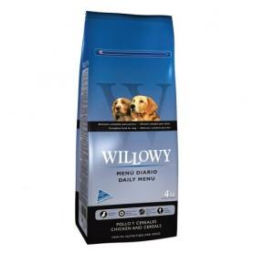 Sausā barība suņiem WILLOWY Daily Menu Dog Adult 4kg