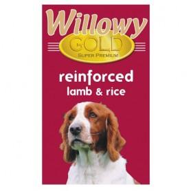 Sausā barība suņiem 15kg Willowy Gold Dog Adult Reinforced Lamb & Rice