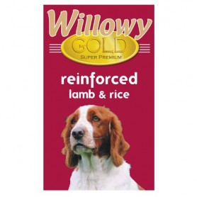 Willowy Gold Dog Adult Reinforced Lamb & Rice 15kg