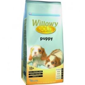 Sausā barība suņiem Willowy Gold Dog Puppy 15kg