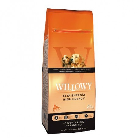 WILLOWY High Energy Dog Adult 20kg