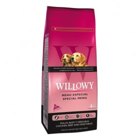 WILLOWY Special Menu Dog Adult 4kg