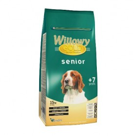 Sausā barība suņiem Willowy Gold Senior Dog 15kg
