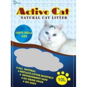 Наполнитель для кошачьих туалетов Active Cat 10л