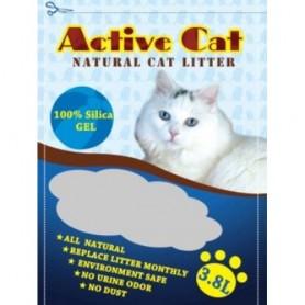 Наполнитель для кошачьих туалетов Active Cat 3,8л
