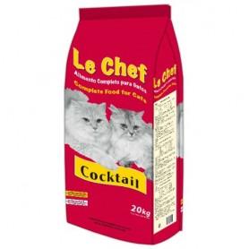 Sausā barība kaķiem Le Chef Coctail Cat Adult 20kg