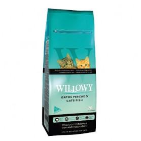 Sausā barība kaķiem Willowy Cat Adult Fish 20kg