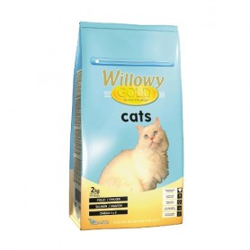 Sausā barība kaķiem Willowy Gold Cat Adult 2kg