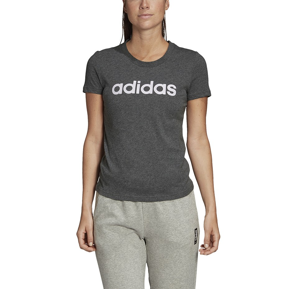 Women's T shirt Adidas Essentials Linear Slim Tee