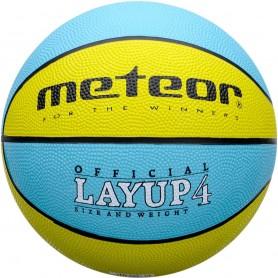 Basketbola bumba Meteor Layup 4